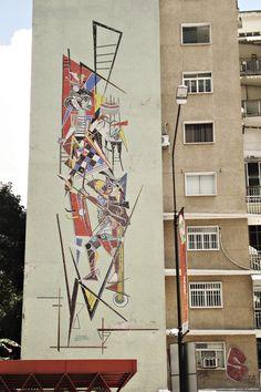 Arte urbano de la Ciudad de Caracas. Venezuela