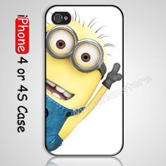 Despicable Me Minion iPhone 4 Case, iPhone 4S Case we provided made from durable plastic with unique and Creative design Please Visit Our S...