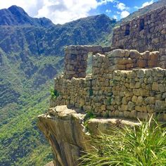 A view within a view at MachuPicchu in the beautifulhellip