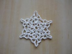 crochet snowflake http://www.ravelry.com/patterns/library/snowflake-bookmark-2