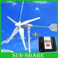 638.26$  Watch here - http://alivyn.worldwells.pw/go.php?t=646783408 - 600W WIND GENERATOR +Wind solar hybrid controller for  home using/Sailing /Fishing  ,TV,FANS,COMPUTERS