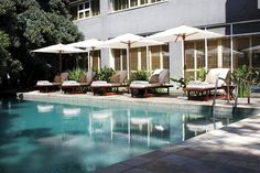 Saxon Hotel - The Saxon is an exclusive international award-winning Boutique Hotel and Spa located in the beautiful, tranquil suburb of Sandhurst with its tree-lined avenues, which belies its close proximity to Sandton, ... #weekendgetaways #johannesburg #southafrica