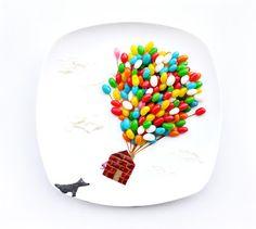 Kreatywne jedzenie   Art lesche