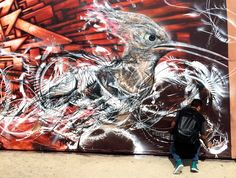 L7m in Dubai, U.A.E, 2014 My part in the largest mural in the world.