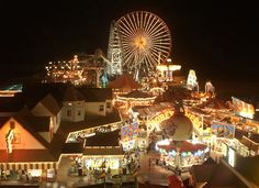 Inspiration for Netherworld boardwalk town of Spectrum. . (Wildwood, New Jersey Boardwalk)