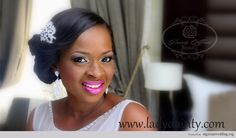 Nigerian Wedding: Get The Look- Lolade of Dainty Affairs Shows You How To Achieve This Bridal Look, Products + Fantastic Tips on Choosing Th...