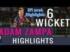 Adam Zampa Take 6 Wickets Highlights Against Hyderabad | RPS Vs SRH IPL ...