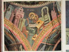 Teofan Cretanul – icoana Byzantine Icons, Orthodox Icons, Ikon, Scene, Princess Zelda, Painting, Fictional Characters, Image, Art