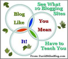 See what 10 top blogs have to teach you about blogging online. From: DavidStilesBlog.com