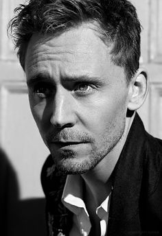 photoshoot Black and White gorgeous tom shoot life ruiner tom hiddleston actor Flaunt Magazine edited by me hiddles flaunt hiddleston hiddle...