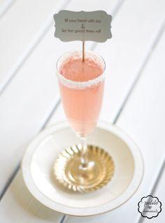 watermelon champagne
