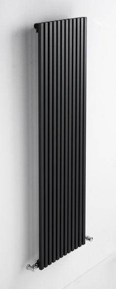 Tolon verticaal Robuuste woonkamer radiatoren in WIT en Zwart, goedkope design radiator. 860 tot 3427 WATT.