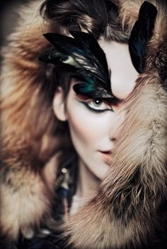 feathers and fur