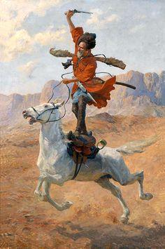 La Pintura y la Guerra. Sursumkorda in memoriam Historical Art, Historical Pictures, Military Art, Military History, Crimean War, Anime Muslim, Medieval Fantasy, Horse Art, Cool Art