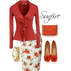 """""""Sunfire"""" by lazell-hammons on Polyvore"""