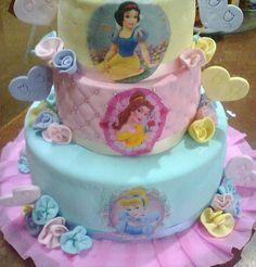 torta de princesas disney