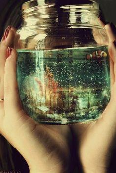 A jar of ocean life :)