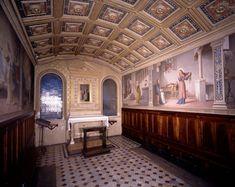 Siena (Italia) - Santuario Casa di Santa Caterina da Siena - Oratorio della Camera - Veduta dell'interno.