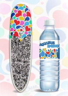 Siren Stand Up Paddle Board inspired by Aquarius Spring Water