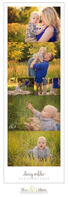1st birthday / family session | Iowa photographer Darcy Milder | His & Hers