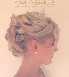 #Braut #Styling #Hochzeit #Hochsteckfrisur  #Wedding #Bridal Styling  by KIM ASMUS