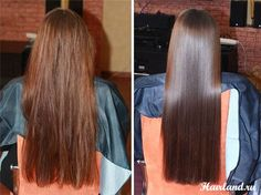 Damaged Hair Ends Treatment