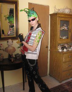 Misa Sugar- Deuce Gorgon Cosplay Monster High Cosplay, Monster High Party, Cosplay Diy, Punk, Costumes, Sugar, Makeup, Fashion, Make Up