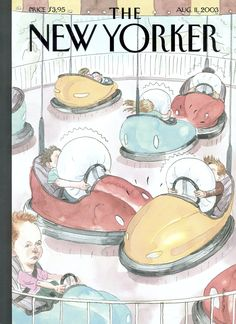 "The New Yorker - Monday, August 11, 2003 - Issue # 4039 - Vol. 79 - N° 22 - Cover ""Safety First"" by Barry Blitt"