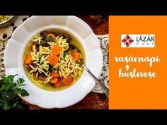 Vasárnapi húsleves - YouTube Japchae, Ethnic Recipes, Youtube, Food, Hoods, Meals, Youtubers
