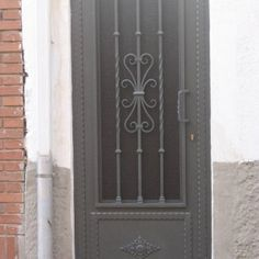 Iron Gates, Door Design, Home Improvement, Doors, Rustic, Bathroom, Home Decor, Ideas, Wrought Iron Doors