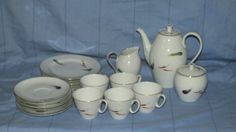 Buy R C Japan - Trios, Milk Jug, Sugar Pot and Coffee Pot - Stunningfor R650.00