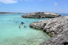 Snorkeling in the Great Stirrup Cay