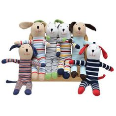 Under the Nile Under The Nile Scrappy Dog Assorted ** Check out the image by visiting the link. (This is an affiliate link) #StuffedAnimalsTeddyBears