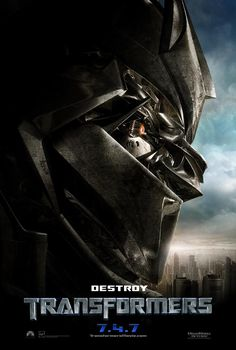 Transformers , starring Shia LaBeouf, Megan Fox, Josh Duhamel, Tyrese Gibson. An ancient struggle between two Cybertronian races, the heroic Autobots and the evil Decepticons, comes to Earth, with a clue to the ultimate power held by a teenager. #Action #Adventure #Sci-Fi #Thriller