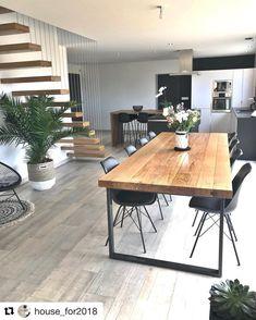fr - - Emma Home House Design, Dining Room Design, Dinning Room Decor, Home Decor, House Interior, Home Deco, Indoor Decor, Interior Design, Living Room Designs