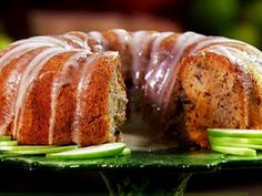 Paula Deen Cake Recipes: Uncle Bob's Fresh Apple Cake- I really love this recipe! It's delicious! This cake is really nice to serve in the Fall. The house will smell like apples and cinnamon.