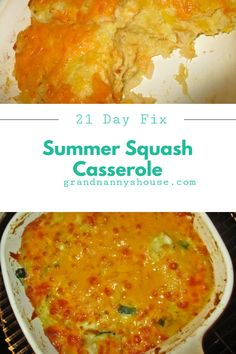 Summer Squash Casserole, a buttery and cheesy pan of goodness baked to perfection. Any variety of summer squash can be used too.