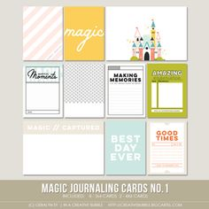 Image of Magic Journaling Cards no.1 (Digital)