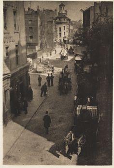 Lower Thames Street : Creator: Anderson, John Henry (c. 1862-1938) Date: c. 1910 Description: A photogravure print entitled 'Lower Thames Street', by John Henry Anderson, c. 1910.
