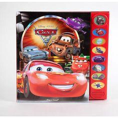 Disney Pixar Cars 2 - Play-a-Sound Book