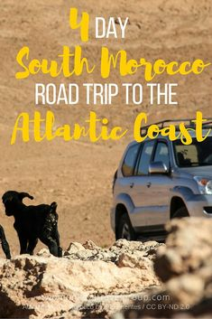 4 Day South Morocco Road Trip to the Atlantic Coast - After 4 amazing days riding a BMW F700GS motorbike through Morocco with PALM ROAD, we've been travelling to even more amazing places, this time with a 4X4 Mitsubishi Pajero Sport, courtesy of Mr Hesham of Safasud Cars (www.safasud.com), in Marrakesh. We started on Tuesday, with a stunning 5 hour drive from Marrakesh, over the High Atlas Mountains and back down again to the city of Tarroudant, famous as one of Morocco's fruit products.