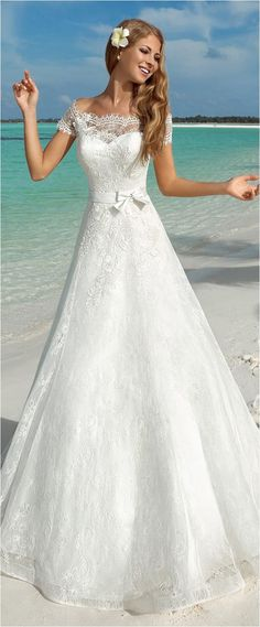 Lace Wedding Dresses (31)