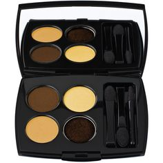 Lancome Color Design Sensational Effects Eye Shadow Quad Smooth Hold (140 BRL) ❤ liked on Polyvore featuring beauty products, makeup, eye makeup, eyeshadow, palette eyeshadow, lancome eye shadow, lancôme, lancome eye makeup and lancome eyeshadow