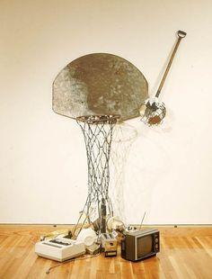 Bill Woodrow. Junk Dunk (1985).