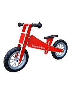 BambinoBike Holz-Lernlaufrad, rot  Muß ich haben!