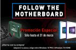 Follow the motherboard!