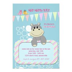 Hippo Invitation