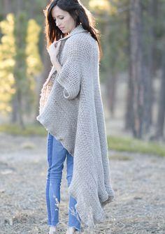 51c77cb3cf229 Endless Drape Kimono Duster Crochet Pattern