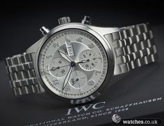 IWC Spitfire Chronograph - IW371702. December 2012 Model. We Buy and Sell IWC watches. Contact Us - www.watches.co.uk