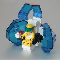 Bubble Cockpit /by pasukaru76 #flickr #LEGO #space